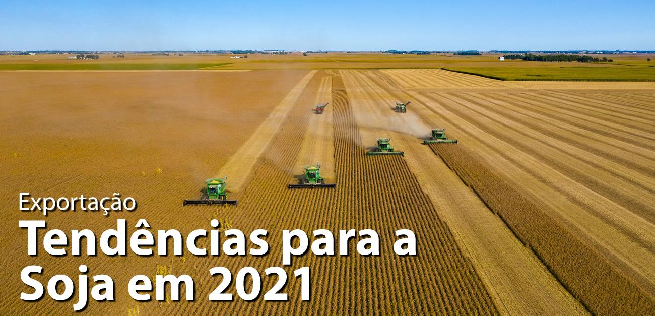 Call Export analisa as previsões de exportação de Soja em 2021. Foto por James Baltz no Unsplash.