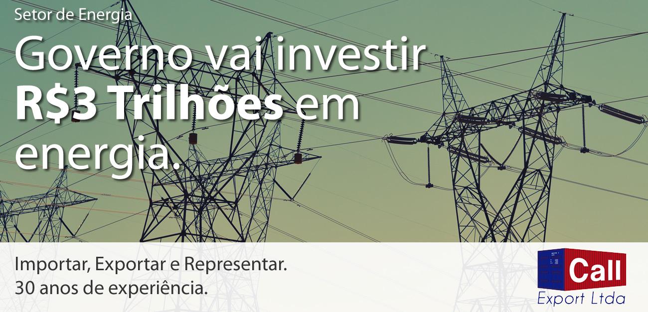 Governo investirá R$ 3 tri no setor energético. Foto: Fre Sonneveld no Unsplash.